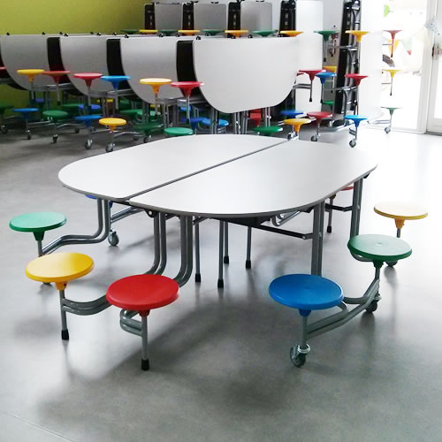 School Dining Tables School Tables Wagstaff School  : cat 10 seaters from www.wagstaffschoolfurniture.co.uk size 500 x 500 jpeg 47kB