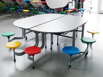 10 Seat School Dining Table Tables Wagstaff