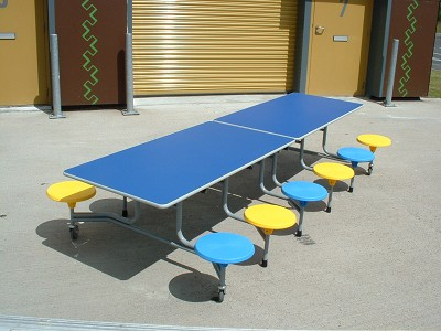 12 Seat School Dining Table School Tables Wagstaff
